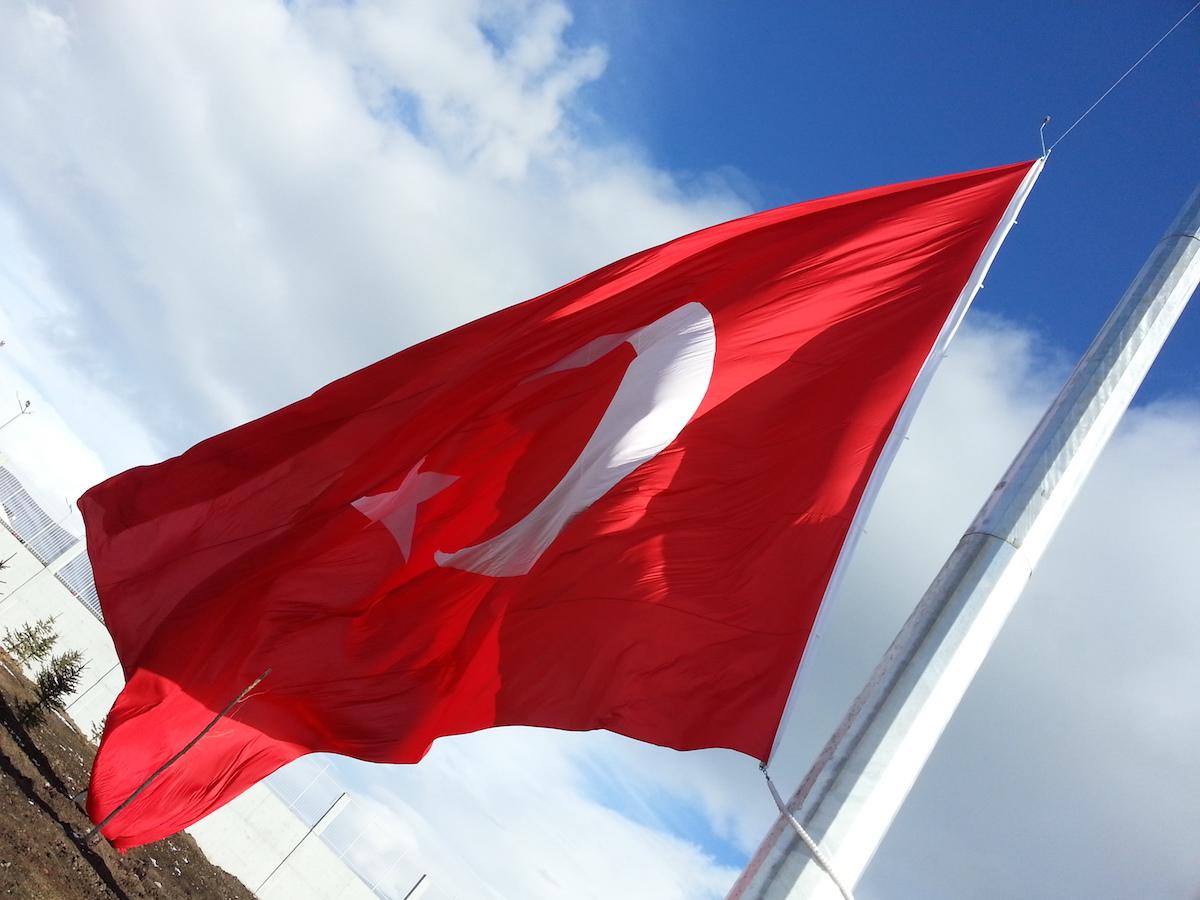 Sarp Sınır Kapısı Bayrak Direği