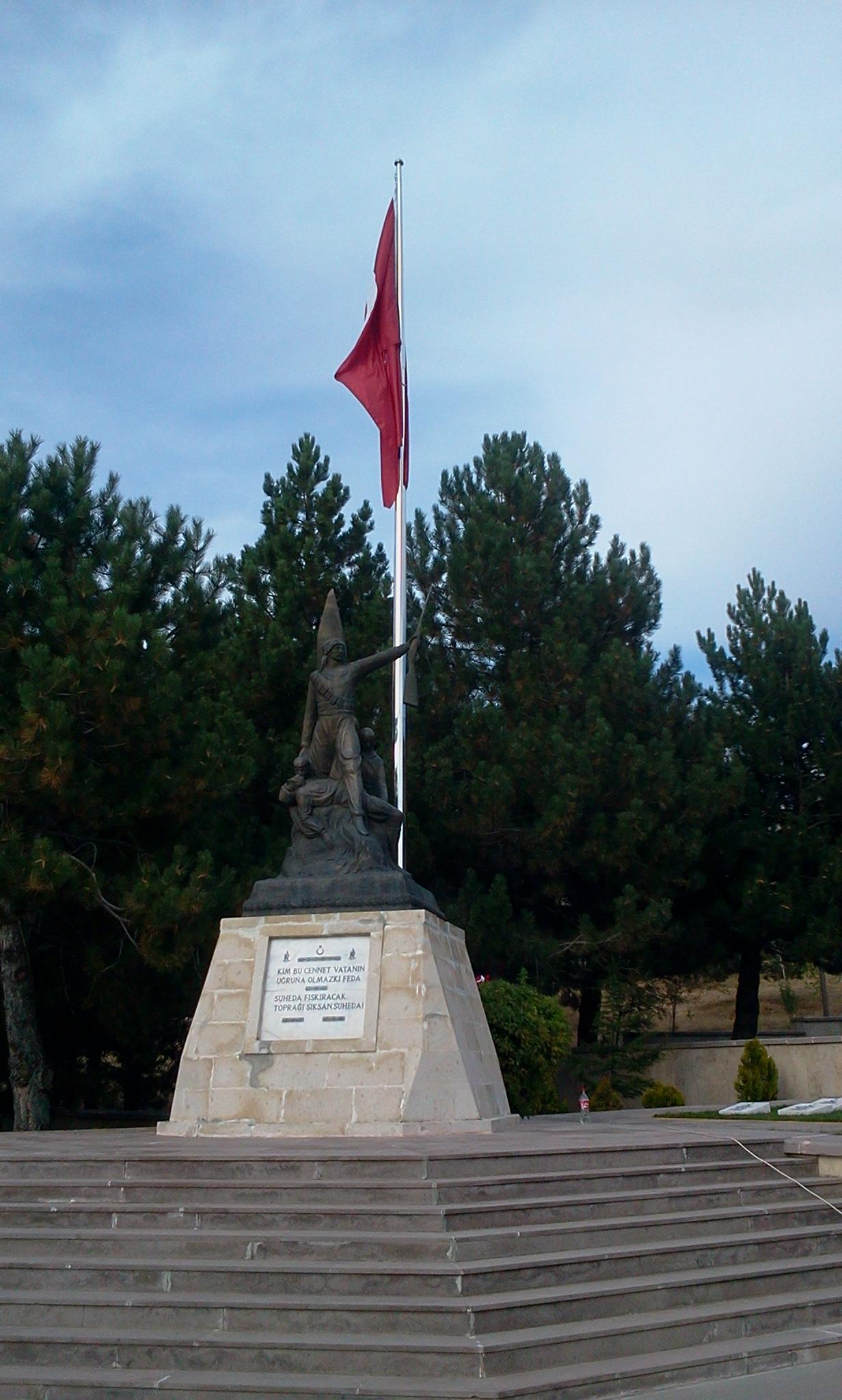 Afyon Kocatepe Paslanmaz Bayrak Direği